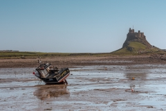 Brittania at Holy Island