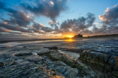 CCC042-Bamburgh Sunrise